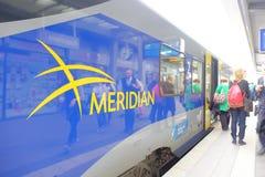 Μεσημβρινοί επιβάτες Στοκ εικόνα με δικαίωμα ελεύθερης χρήσης