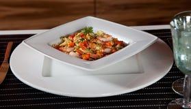 μεσημεριανό γεύμα απλό Στοκ Εικόνες