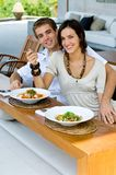 Μεσημεριανό γεύμα από κοινού Στοκ εικόνες με δικαίωμα ελεύθερης χρήσης
