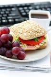 μεσημεριανό γεύμα γρήγορ&alph στοκ εικόνες με δικαίωμα ελεύθερης χρήσης