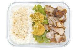 μεσημεριανό γεύμα κιβωτίω Στοκ εικόνα με δικαίωμα ελεύθερης χρήσης