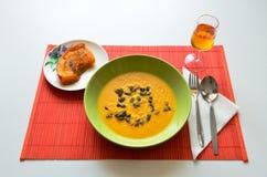 Μεσημεριανό γεύμα κολοκύθας Στοκ φωτογραφία με δικαίωμα ελεύθερης χρήσης