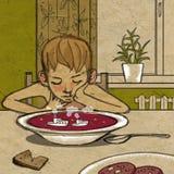 Μεσημεριανό γεύμα ονείρου Στοκ Εικόνα