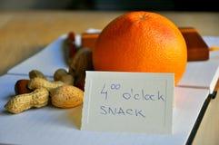 μεσημεριανό γεύμα σπασιμά&ta Στοκ Εικόνες