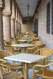 Μεσημεριανό γεύμα στην αρχαία εξωτική θέση Στοκ εικόνα με δικαίωμα ελεύθερης χρήσης