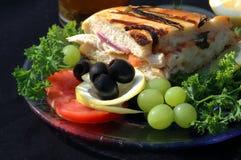 μεσημεριανό γεύμα τέχνης Στοκ εικόνα με δικαίωμα ελεύθερης χρήσης