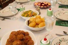 μεσημεριανό γεύμα Χριστο&u Στοκ Φωτογραφίες