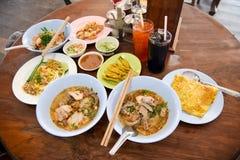 Μεσημεριανό γεύμα ύφους Sukhothai Στοκ εικόνες με δικαίωμα ελεύθερης χρήσης