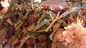 Μεσογειακή αγορά, λαχανικά Στοκ Εικόνα
