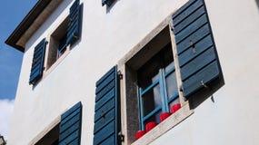 Μεσογειακή αρχιτεκτονική Στοκ Φωτογραφία