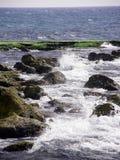 Μεσογειακή θάλασσα akhziv Στοκ Φωτογραφία