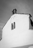 Μεσογειακή καθολική εκκλησία στην Κροατία Στοκ Εικόνες