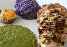 Μεσογειακή κουζίνα, ψητό Τουρκία Στοκ φωτογραφίες με δικαίωμα ελεύθερης χρήσης