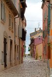 Μεσογειακή οδός Στοκ Φωτογραφίες