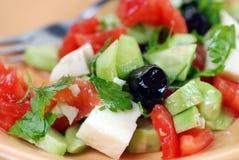 μεσογειακή σαλάτα Στοκ Φωτογραφίες