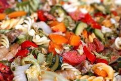 μεσογειακή σαλάτα Στοκ εικόνες με δικαίωμα ελεύθερης χρήσης