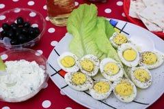 Μεσογειακή σαλάτα Στοκ εικόνα με δικαίωμα ελεύθερης χρήσης