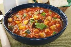Μεσογειακή φυτική σούπα Ratatouille Στοκ εικόνες με δικαίωμα ελεύθερης χρήσης