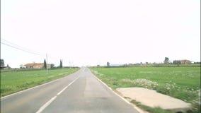 Μεσογειακός αγροτικός δρόμος 2 απόθεμα βίντεο