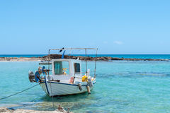 Μεσογειακός λιμένας με τις βάρκες Στοκ εικόνες με δικαίωμα ελεύθερης χρήσης