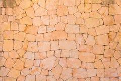 Μεσογειακός τοίχος Stone Στοκ Φωτογραφίες