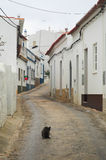 μεσογειακό ήρεμο χωριό Στοκ Φωτογραφία