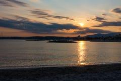 μεσογειακό ηλιοβασίλ&epsil Στοκ Φωτογραφίες