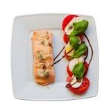 Μεσογειακό πιάτο ver 1b. Στοκ φωτογραφία με δικαίωμα ελεύθερης χρήσης