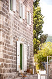 Μεσογειακό σπίτι Στοκ εικόνα με δικαίωμα ελεύθερης χρήσης