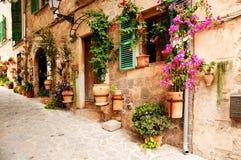 μεσογειακό χωριό στοκ φωτογραφία