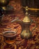 Μεσο-Ανατολικό τσάι στοκ φωτογραφίες