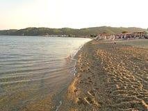 Μεσόγειος το πρωί, στην Ελλάδα αυξημένος στοκ φωτογραφία με δικαίωμα ελεύθερης χρήσης