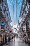 Μετάβαση αγορών arcade στη Χάγη, Κάτω Χώρες Στοκ εικόνα με δικαίωμα ελεύθερης χρήσης