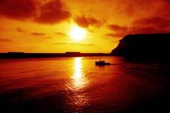 μετάβαση αλιείας Στοκ Εικόνες