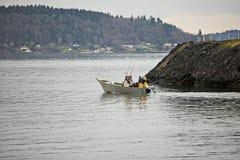 μετάβαση αλιείας Στοκ Εικόνα