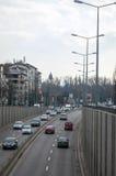 Μετάβαση αυτοκινήτων Στοκ Φωτογραφίες