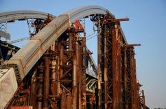 Μετάβαση γεφυρών Podol στοκ εικόνες με δικαίωμα ελεύθερης χρήσης