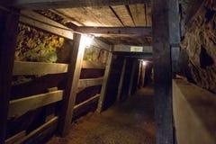 Μετάβαση ορυχείων Undergroung στα βουνά Στοκ Εικόνα