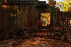 Μετάβαση σε Angkor σύνθετο στην Καμπότζη Στοκ φωτογραφία με δικαίωμα ελεύθερης χρήσης