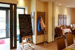 Μετάβαση στη τραπεζαρία Στοκ εικόνα με δικαίωμα ελεύθερης χρήσης