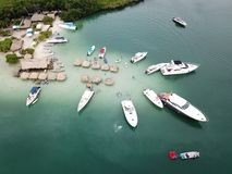 Μετάβαση στο κόμμα στο νησί cholons στοκ εικόνες