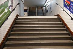 Μετάβαση του σταθμού μετρό του Παρισιού Στοκ Φωτογραφίες