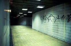 μετάβαση υπόγεια Στοκ Φωτογραφίες