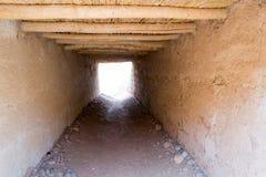 Μετάβαση Roofed σε ένα χωριό berber Στοκ φωτογραφία με δικαίωμα ελεύθερης χρήσης