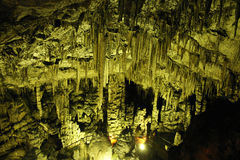 μετάλλευμα σπηλιών υπόγ&epsilon Στοκ Εικόνες