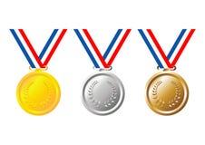 μετάλλια Στοκ Φωτογραφία