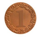 Μετάλλιο για την απονομή Στοκ Εικόνες