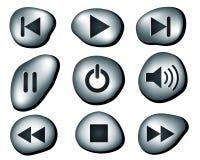 μετάλλιο κουμπιών Στοκ εικόνες με δικαίωμα ελεύθερης χρήσης