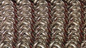 Μετάλλων πλέγματος χρώμιο υποβάθρου σύστασης που καλύπτεται ψάθινο στοκ φωτογραφία με δικαίωμα ελεύθερης χρήσης