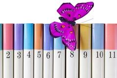 μετάξι πεταλούδων βιβλίων Στοκ φωτογραφία με δικαίωμα ελεύθερης χρήσης